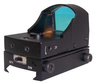 NC Star Compact Tactical Red Dot Scope. (On / Off Switch)