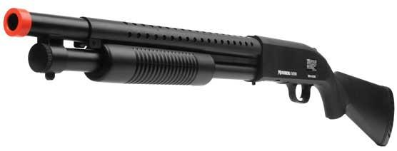 z SoftAir Licensed Mossberg M500 Full Size Airsoft Shotgun w/ Full Stock & Metal Heat Sink