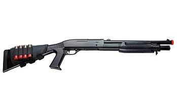Bone Yard - M1014 Tactical Full Size Shell Loading Airsoft Shotgun (Store Display, Non-Working Or Refurbished Models)