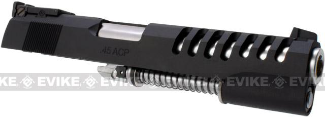 z CQB Master / WE Complete Hyper Speed Aluminum Slide Set for 1911 / HICAPA Airsoft Gas Blowback Series - Black
