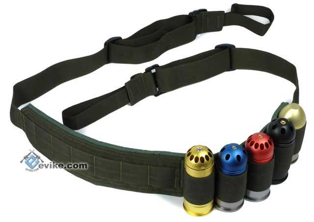 Matrix Tactical Military Style Heavy Weapons / M203 Grenadier 40mm Grenade Sling - OD Green