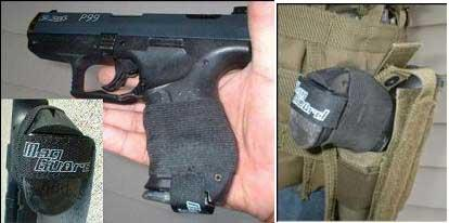 Tactical Magguard for Handguns for Airsoft Gas Blowbacks