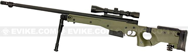 Bone Yard - WELL G96 Gas Powered Full Size Airsoft Sniper Rifle (Store Display, Non-Working Or Refurbished Models)