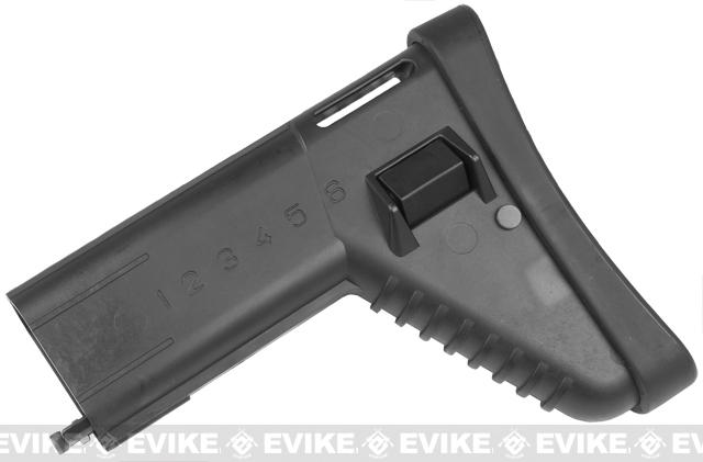 Spare Stock for VFC, Echo1, Dboy, AGM, WE SCAR, ASC, MK16 Airsoft AEG / GBB - Black