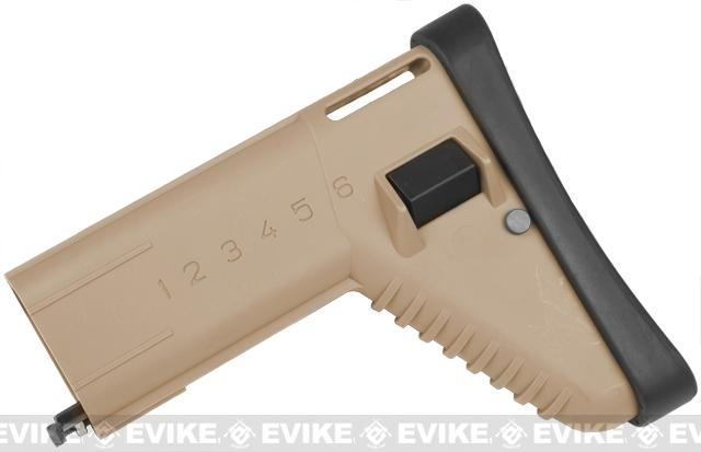 Spare Stock for VFC, Echo1, Dboy, AGM, WE SCAR, ASC, MK16 Airsoft AEG / GBB - Tan