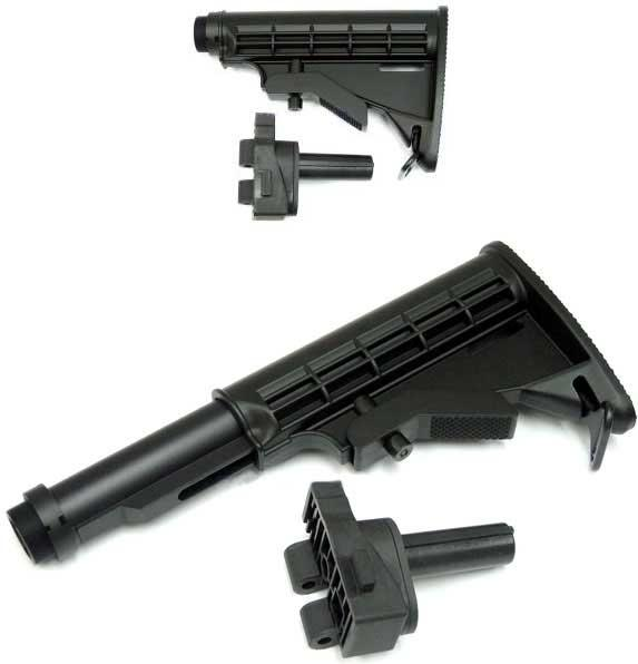 Hybrid 6 Position LE Retractable Stock Set for G36 Series Airsoft AEG