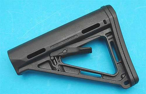 Magpul Licensed PTS MOE Stock For M4 Series Airsoft AEG Rifle (Black)