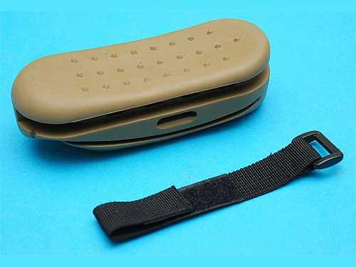 Matrix / UFC Rubber Ergonomic Stock Pad for AK series Airsoft AEG (Color: Tan)