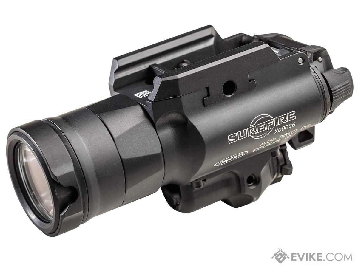 Surefire X400UH-A-GN Ultra High Output 1000 Lumens LED Weapon Light with Green Laser