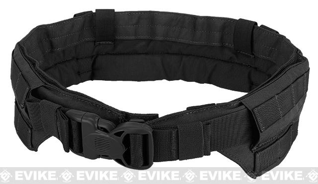 TMC Padded Modular Duty / Battle / Rig Belt (Color: Black)