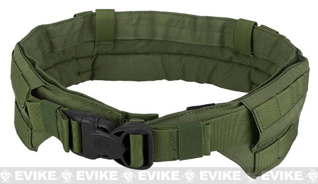 TMC Padded Modular Duty / Battle / Rig Belt - OD Green
