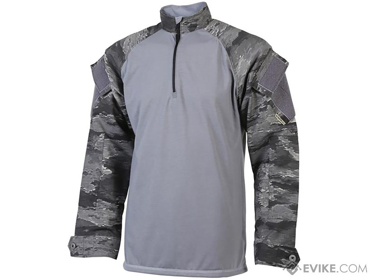 Tru-Spec Tactical BDU Xtreme 1/4 Zip Combat Shirt (Color: A-TACS Ghost / Large-Regular)