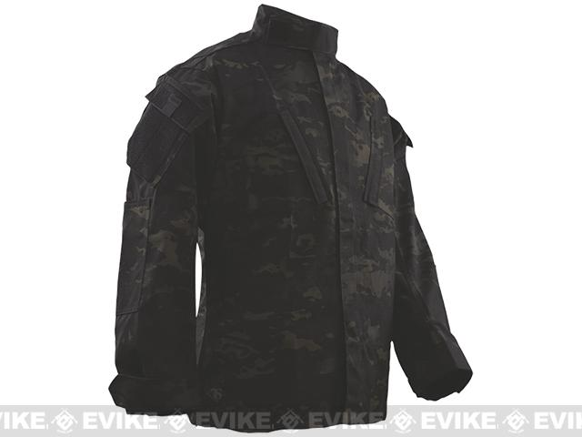 Tru-Spec Tactical Response Uniform Shirt - Multicam Black (Size: X-Large-Regular)