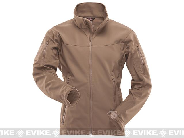Tru-Spec 24-7 Series Tactical Softshell Jacket - Coyote (Size: Small)