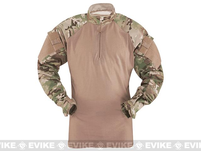 Tru-Spec Tactical Response Uniform 1/4 Zip Combat Shirt - Multicam (Size: X-Large)