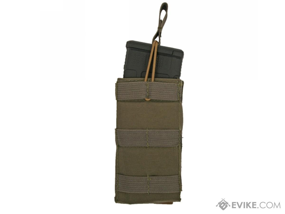 Tactical Tailor Rogue 5.56 Single Mag Magazine Pouch (Color: Ranger Green / Tall)