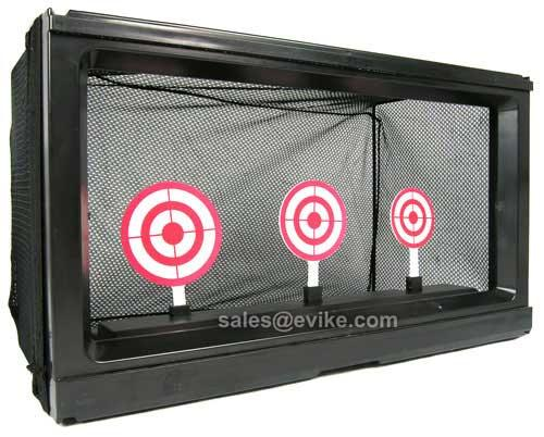 Extra large Multi Function Auto Reset Airsoft Target System with Net