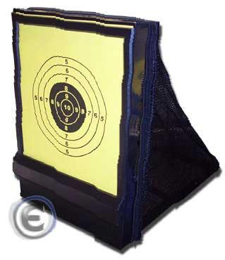 Airsoft Portable Shooting Target / BB Trap with Replaceable Target Paper