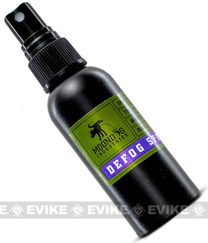 Pre-Order ETA March 2020 Moondog Airsoft / Paintball 60ml Goggle DeFog Anti fog Spray