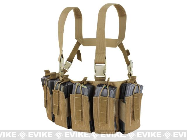 z Condor Barrage Chest Rig - Coyote Brown