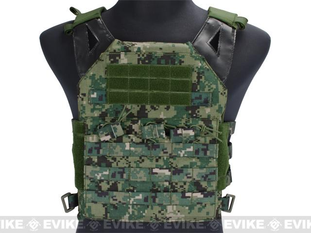 Avengers Compact Airsoft High Speed JPC Plate Carrier (Color: AOR2 / Adult)