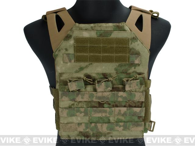 Avengers Compact Airsoft High Speed JPC Plate Carrier (Color: Woodland Arid / Adult)