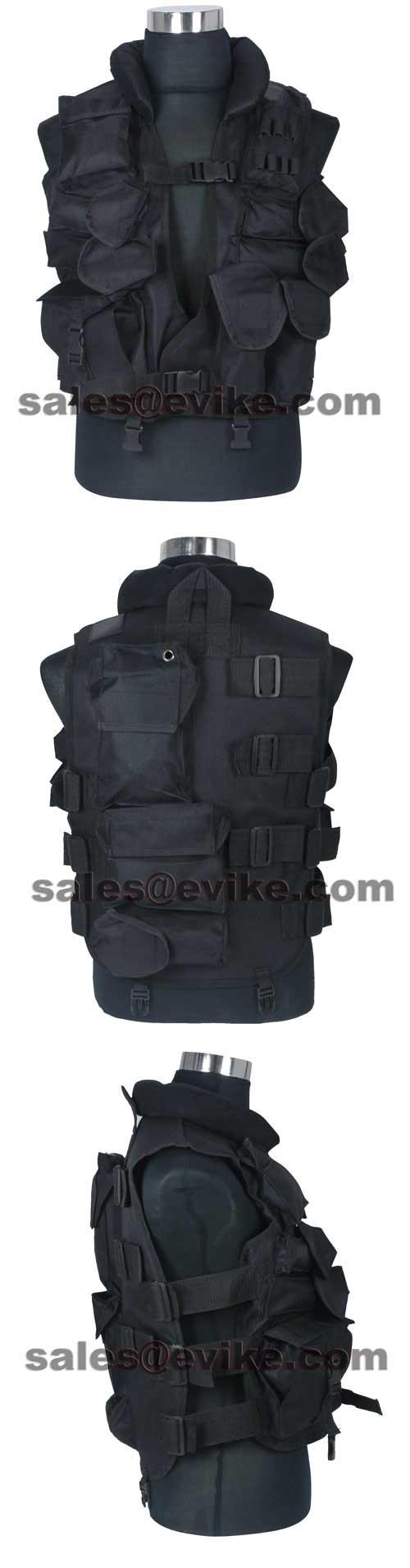 Fire Dragon SDU Special Level II Special Force Vest.(Black)