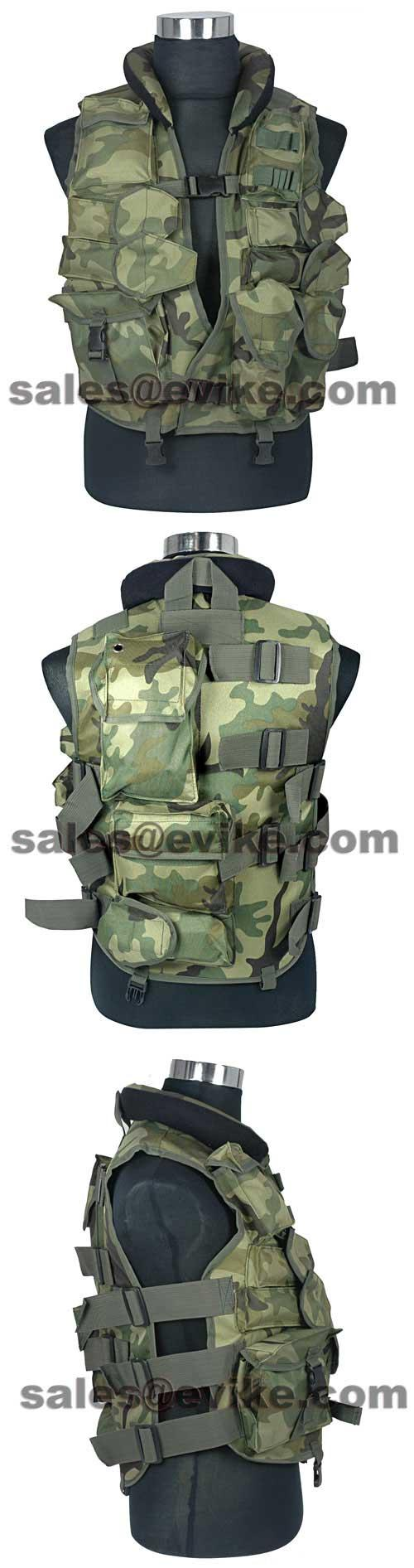 Fire Dragon SDU Special Level II Special Force Vest.(Woodland)