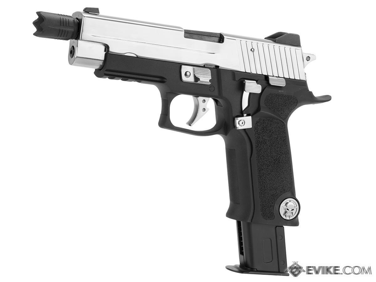 WE-Tech P-VIRUS Airsoft GBB Pistol (Package: Pistol Only)