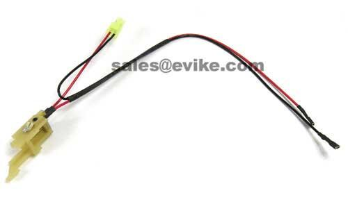 jg high silicone wire harness assembly for g36 series airsoft aeg accessories parts external