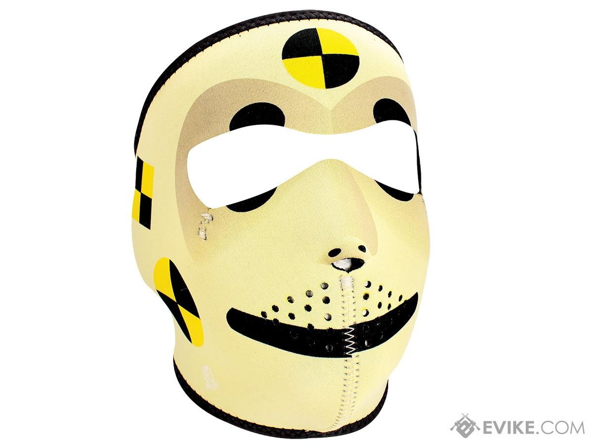 Bobster / Zan Headgear Neoprene Face Mask (Color: Crash Test Dummy)