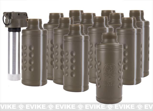 Thunder B Airsoft Co2 Simulation Grenade (Package: 12 Shell Set / Tripwire)
