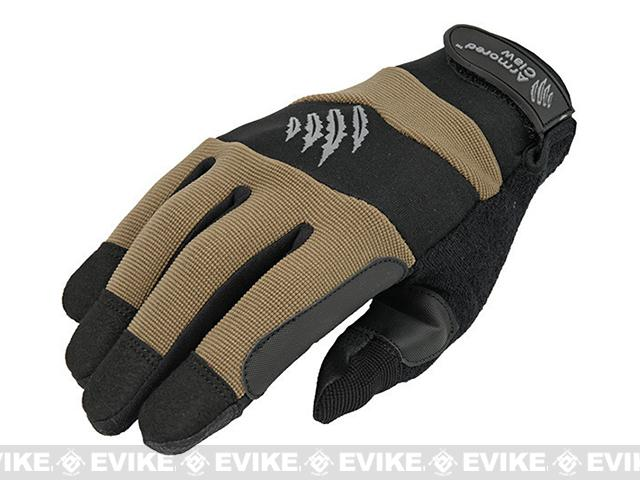 Armored Claw Accuracy Tactical Glove (Color: Tan / Medium)