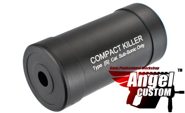 Angel Custom Compact Killer Aluminum Airsoft Barrel Extension / Sound Amplifier