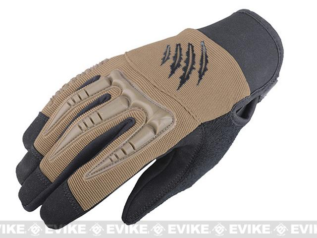 Armored Claw BattleFlex Tactical Glove - Tan (Size: Medium)