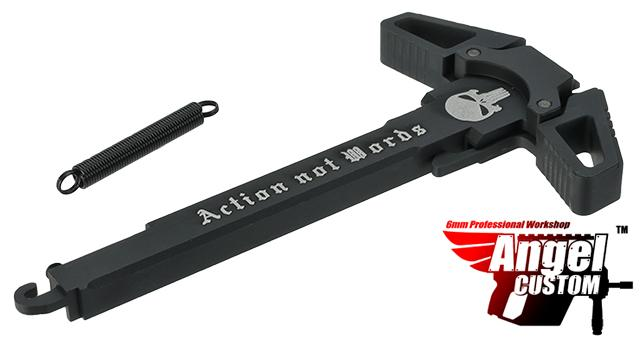 Angel Custom Call Of Duty Charging Handle for AR-15 M4 M16 Airsoft AEG Rifles (Logo: Actions Not Words)