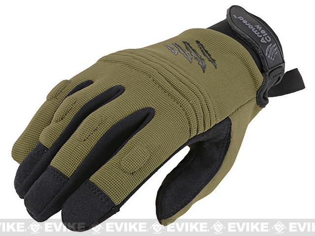 Armored Claw CovertPro Tactical Glove (Color: OD Green / Medium)