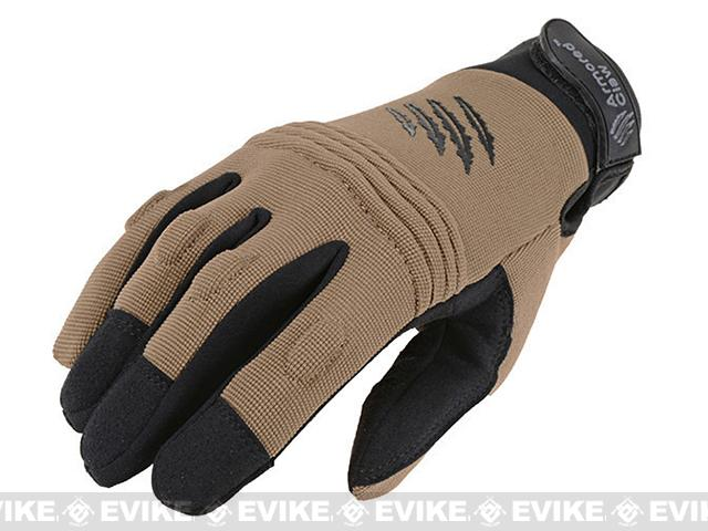 Armored Claw CovertPro Tactical Glove - Tan (Size: Large)