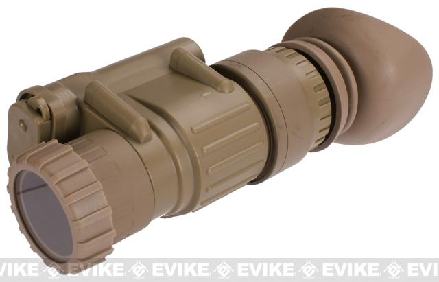 Replica Dummy AN/PVS-14 Monocular Night Vision (For Movie Prop, Cosplay, Decorative) - (Dark Earth)