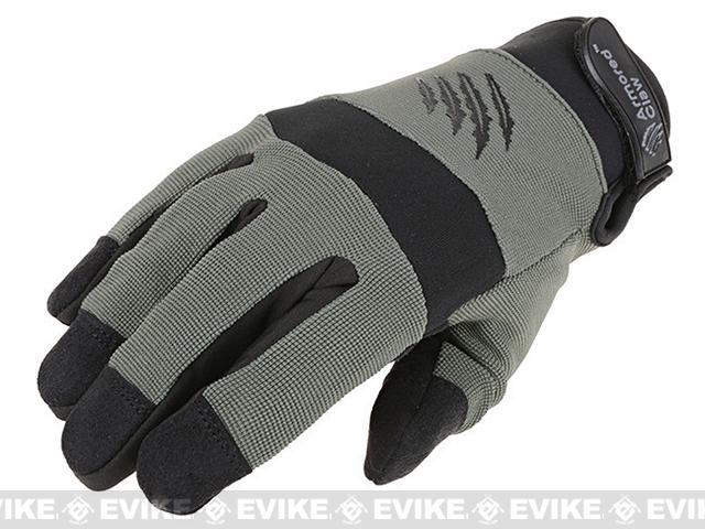 Armored Claw Cold Weather Tactical Glove (Color: Sage / Small)