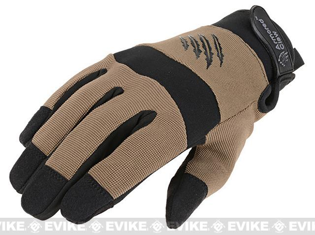 Armored Claw Cold Weather Tactical Glove - Tan (Size: Medium)