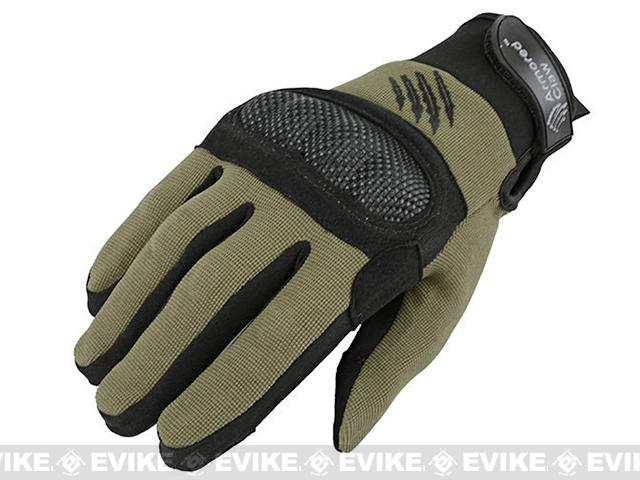Armored Claw Shield Tactical Glove (Color: OD Green / X-Large)