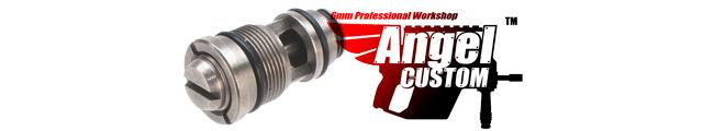 Angel Custom PTFE SUS303 Stainless Steel Hi-Flow Valve for KWA / KSC Series Airsoft GBB Pistols