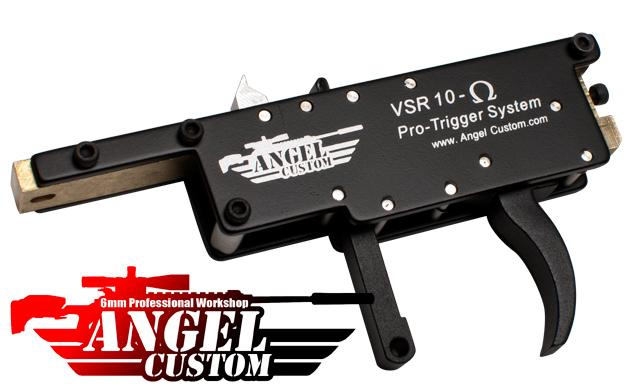 Pre-Order ETA July 2018 Angel Custom OMEGA Pro Zero Trigger System For VSR-10 Airsoft Bolt Action Sniper Rifles