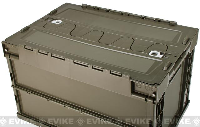 acc 180396 3 laylax tactical folding military storage box container olive Old Fuse Box Parts at beritabola.co