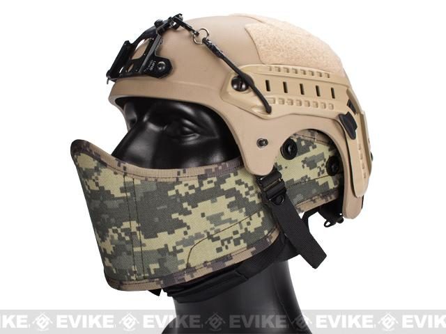 Avengers Helmet Face Armour HAF Mask for Airsoft - ACU
