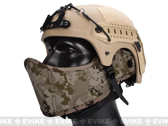 Avengers Helmet Face Armour HAF Mask for Airsoft (Color: Digital Desert Marpat)