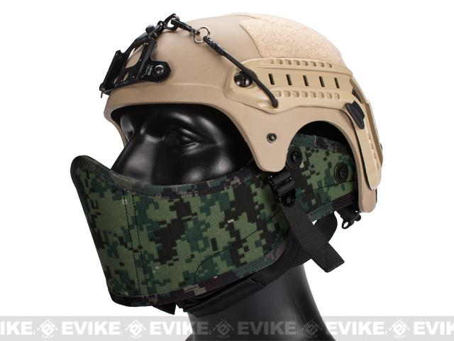 Avengers Helmet Face Armour HAF Mask for Airsoft (Color: Digital Woodland Marpat)