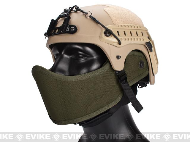 Avengers Helmet Face Armour HAF Mask for Airsoft (Color: Foliage Green)