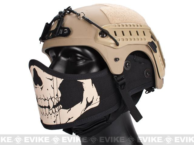 Avengers Helmet Face Armour HAF Mask for Airsoft (Color: Skull)